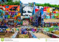 Central Texas Austin Hope Graffiti Art Gallery Outdoor ...