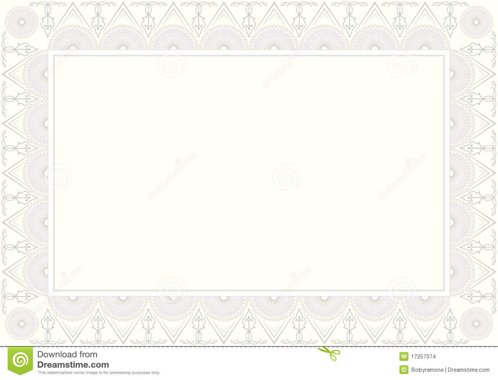 background certificate