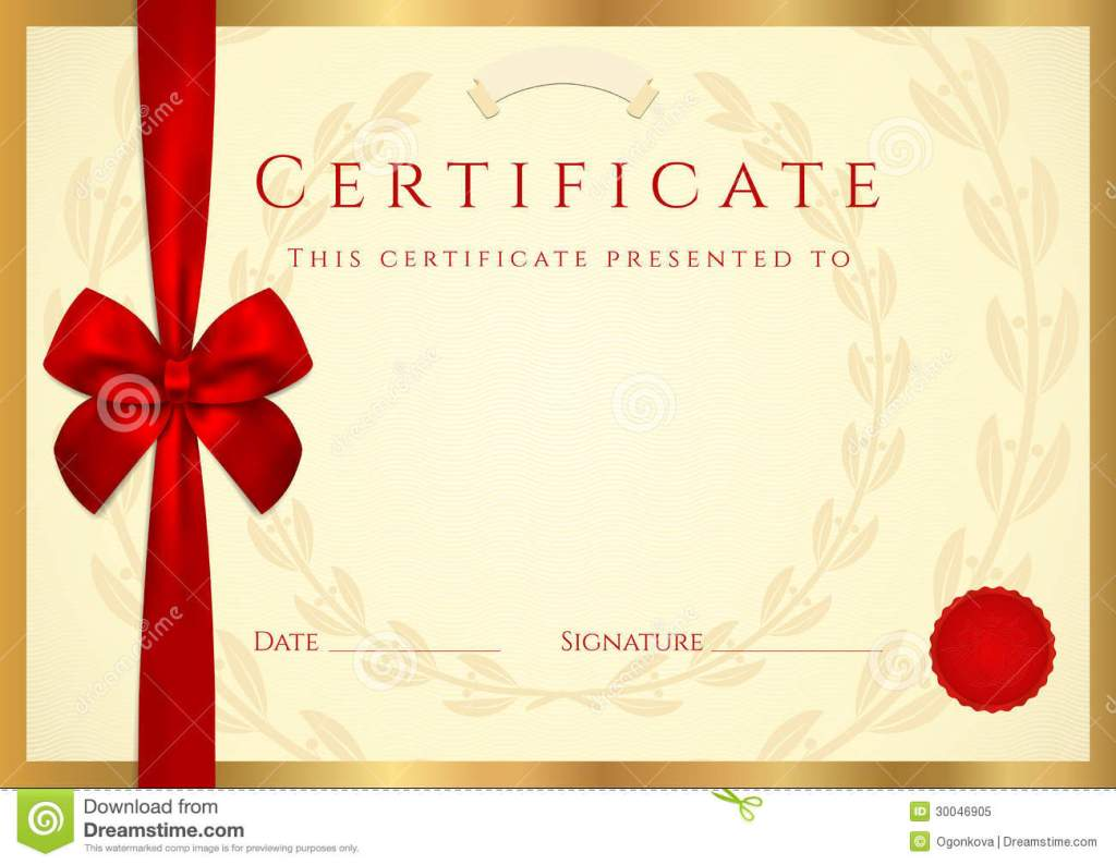 certificate of completion free
