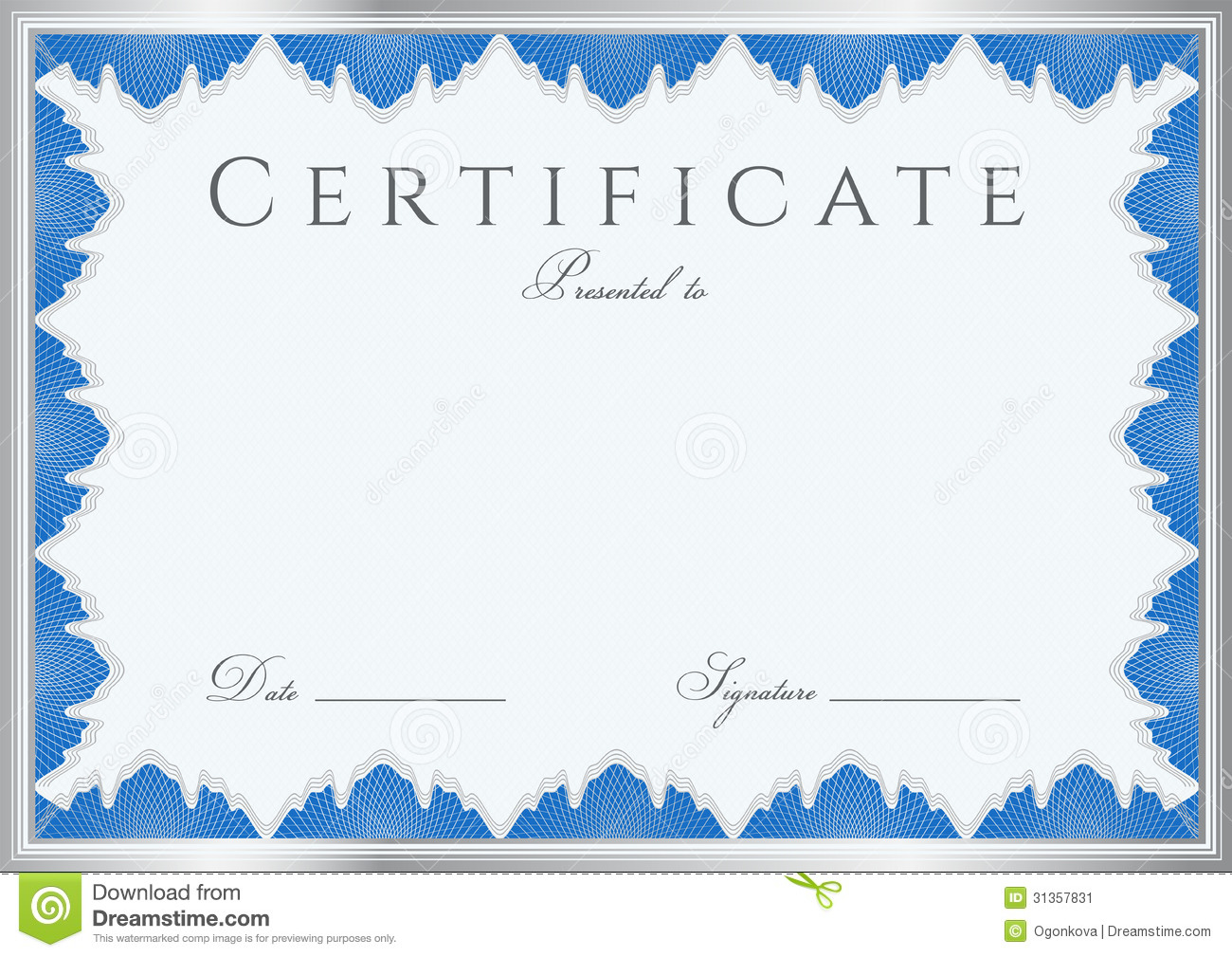 Download free certificate templates make gift vouchers online free certificate of completion free template professional invitation certificate diploma background template frame blue completion sample guilloche yelopaper Gallery