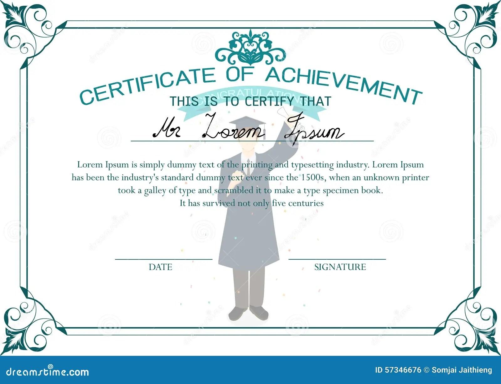 100 Blank Certificate Templates Awards Certificates