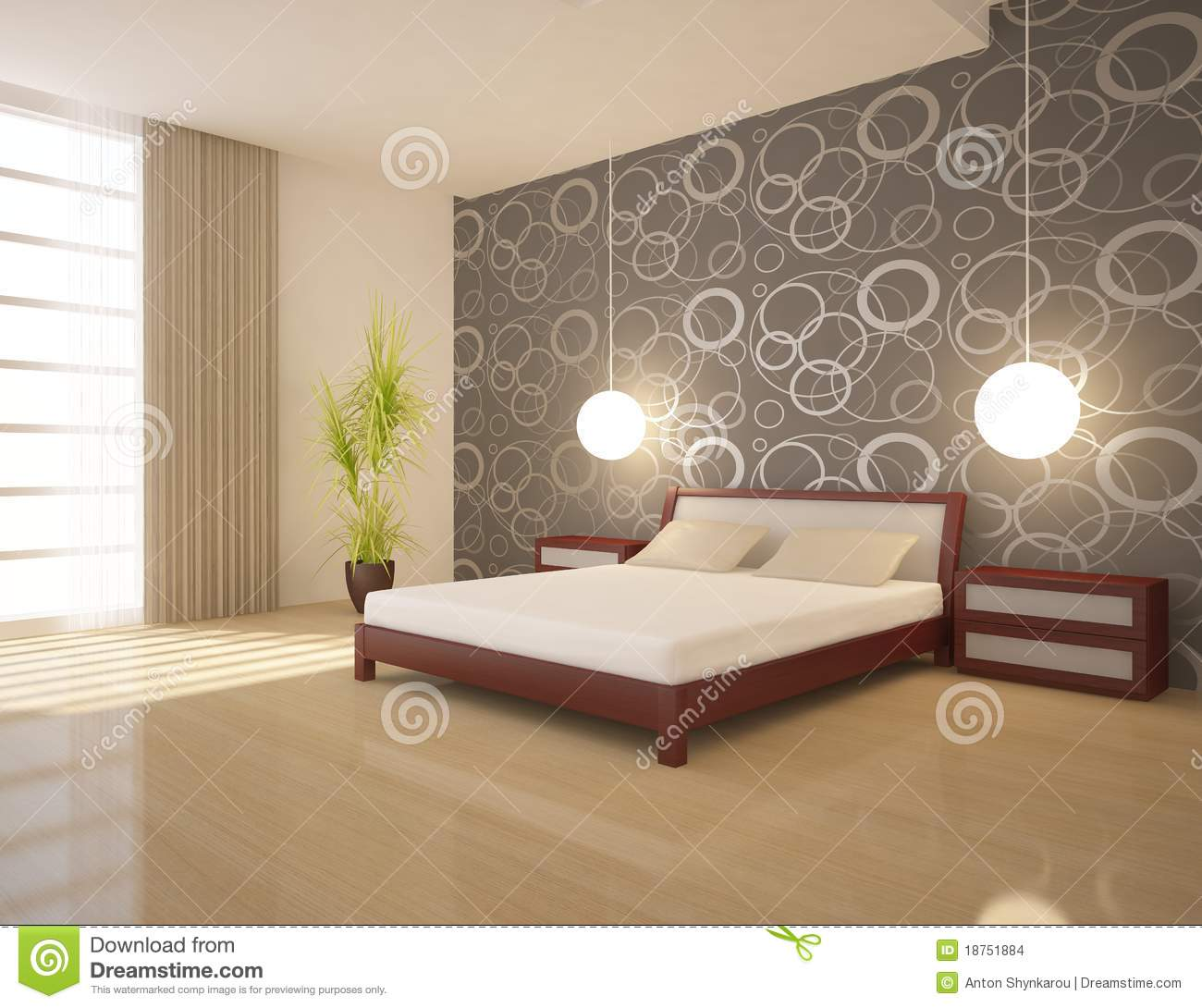 Chambre A Coucher Blanche Chambre à Coucher Blanche Images Stock Image 18751884