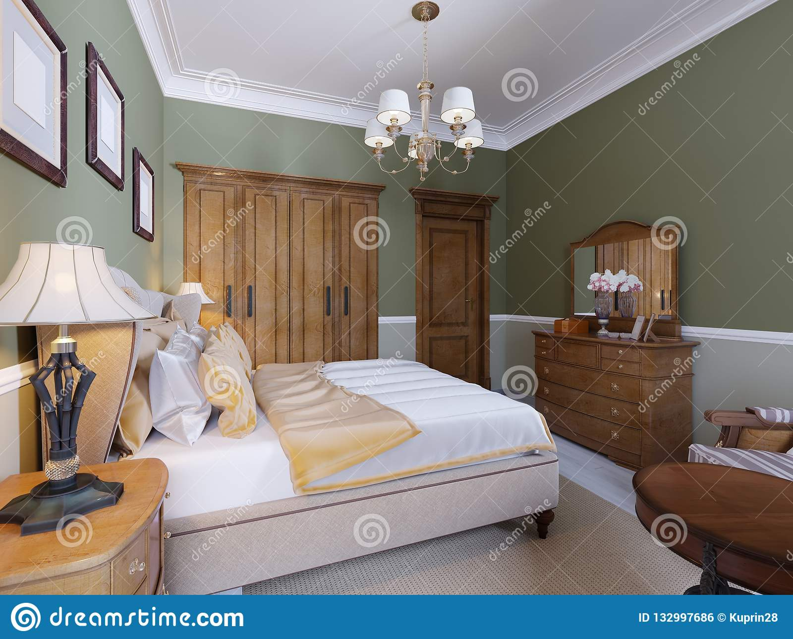 Chambre à Coucher Style Anglais