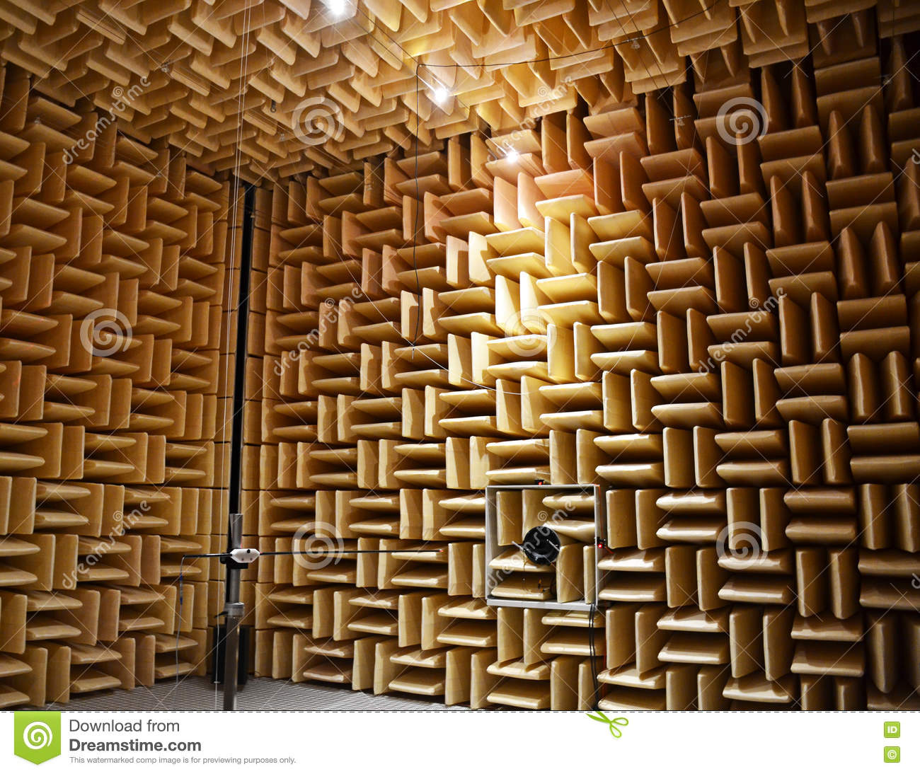 Chambre Acoustique Chambre Acoustique Photo Stock Image Du Poreux Electrical 76058338