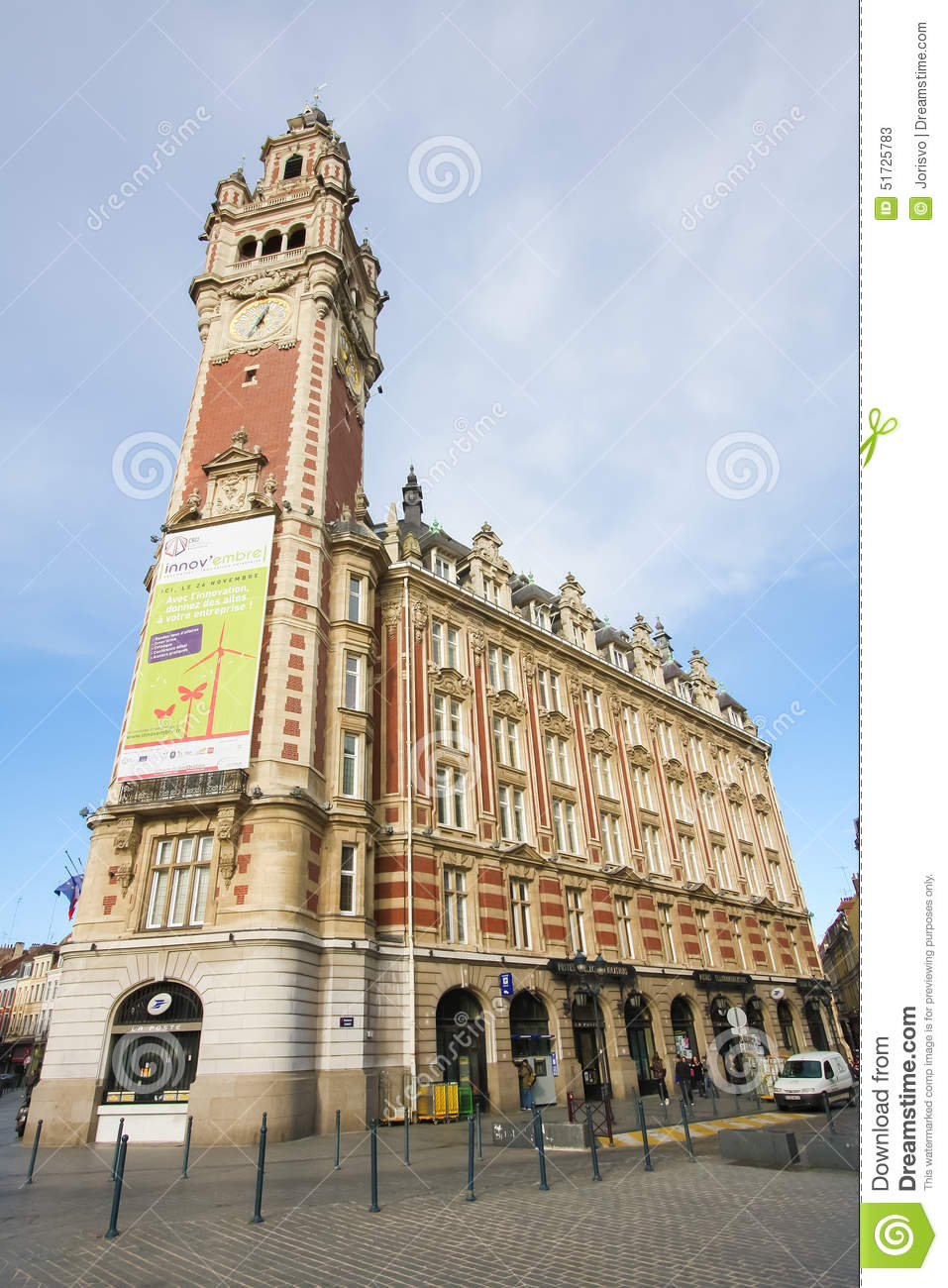 Chambre De Commerce France Chambre De Commerce In Lille France Editorial Stock Photo Image