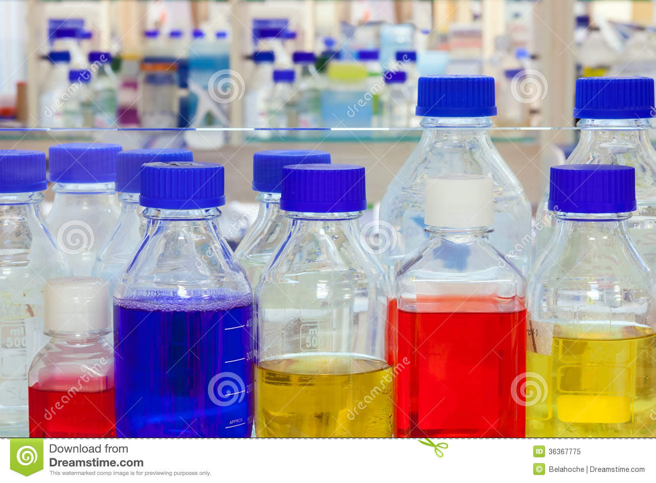 chemical solutions royalty free stock images