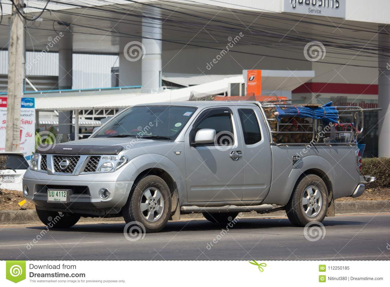 Nissan Hilux Private Pickup Car Nissan Navara Editorial Image Image Of