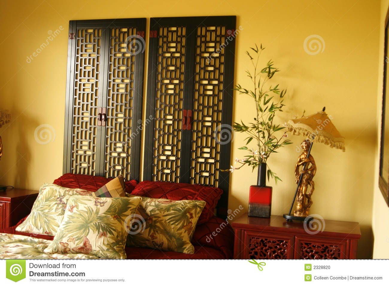Chinese Decorations For Bedroom Chinese Decor Stock Photo Image 2328820