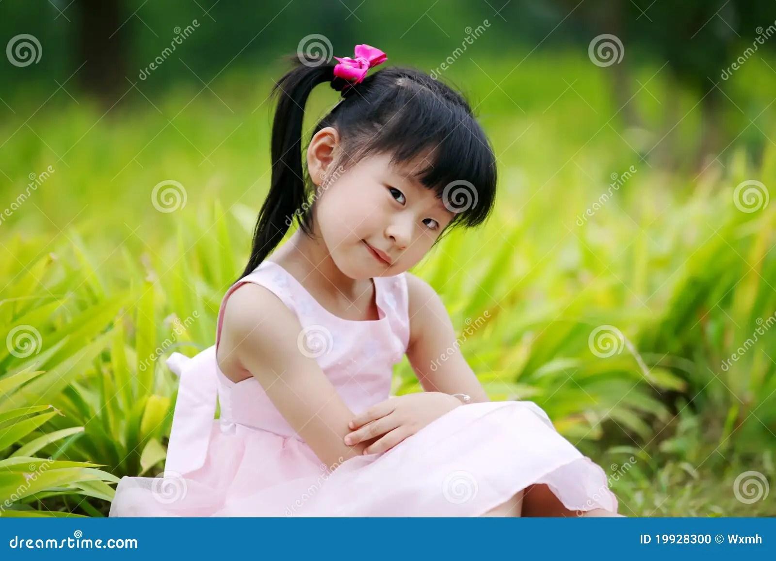 3d Wallpaper Maker Chinese Lovely Girl Stock Photo Image 19928300