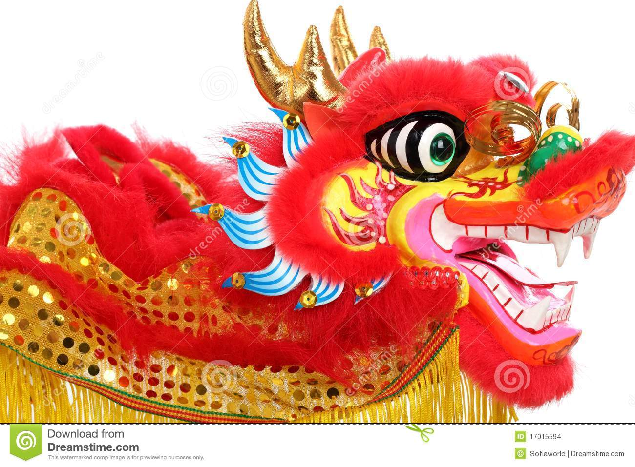 Chinese Dragon Decor Chinese New Year Decoration Stock Photo Image Of Chinese