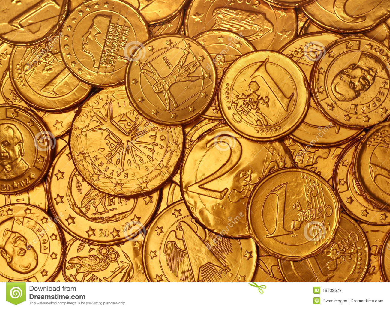 Money Falling Wallpaper Chocolate Gold Coins Stock Image Image Of Coin Bright