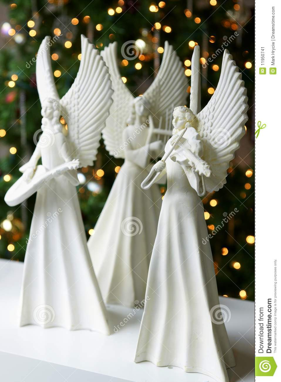 3d Girl Wallpaper Download Christmas Angels Stock Image Image 11950741