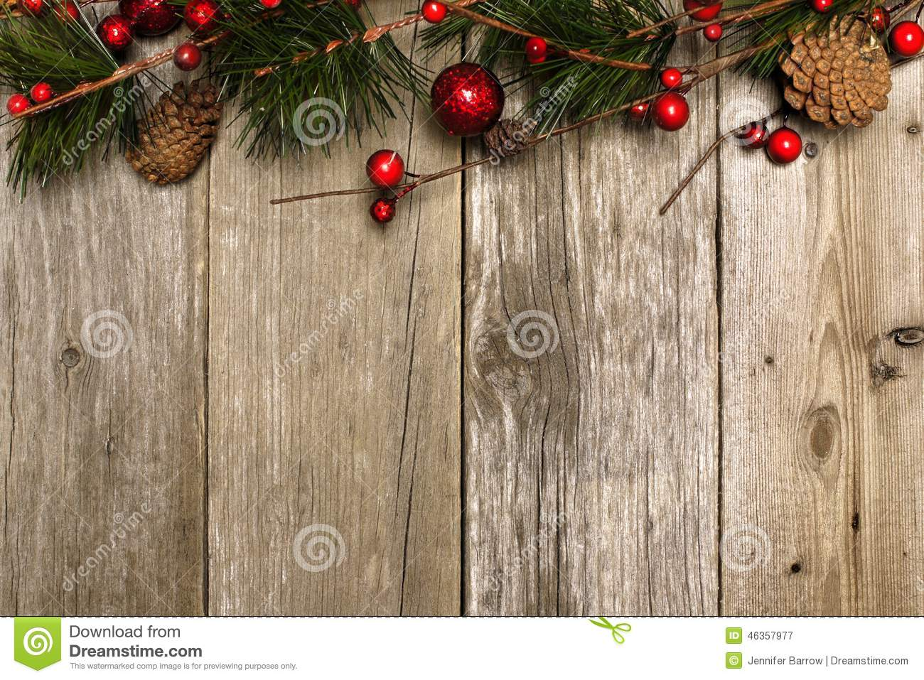Weihnachten Holz Christmas Background Of Branches On Wood Stock Photo