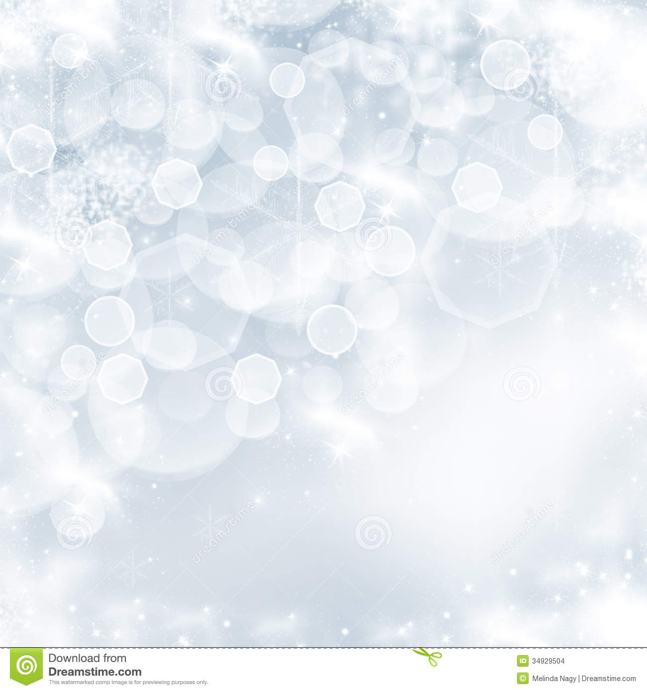 Fall Festival Wallpaper Christmas Background With White Snowflakes Stock