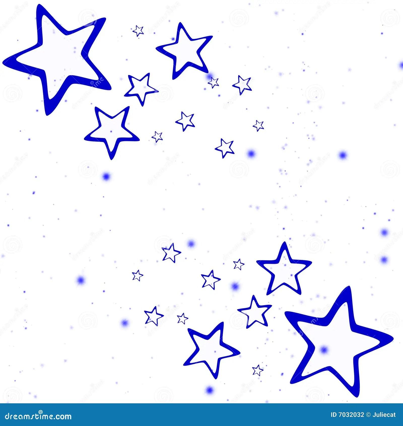 Falling Glitter Wallpaper Christmas Blue Stars Stock Illustration Image Of Deco