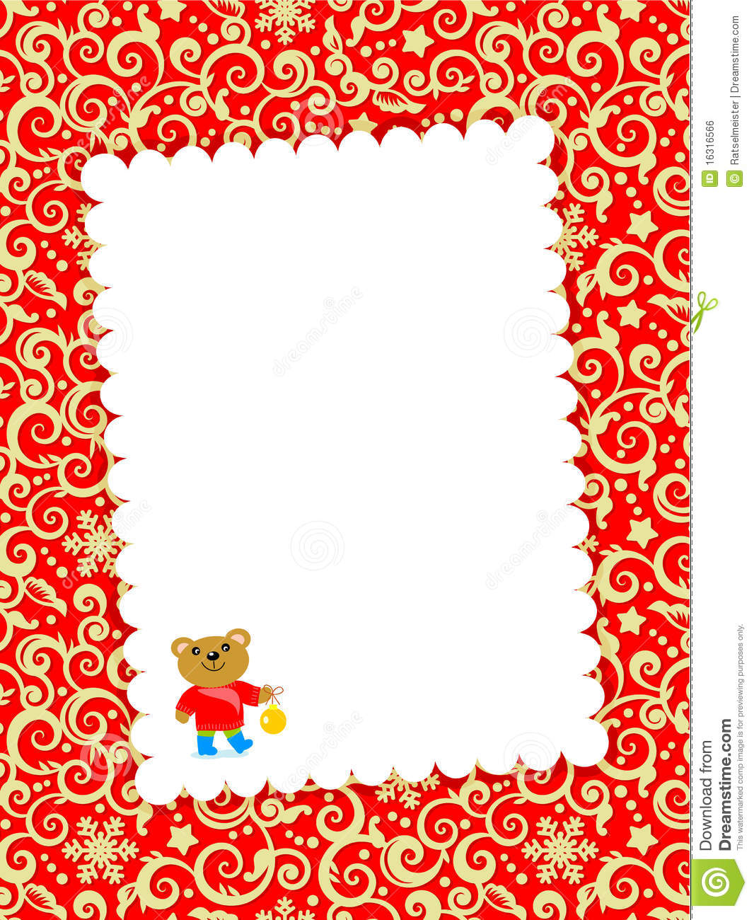 christmas card letter templates – Blank Christmas Templates
