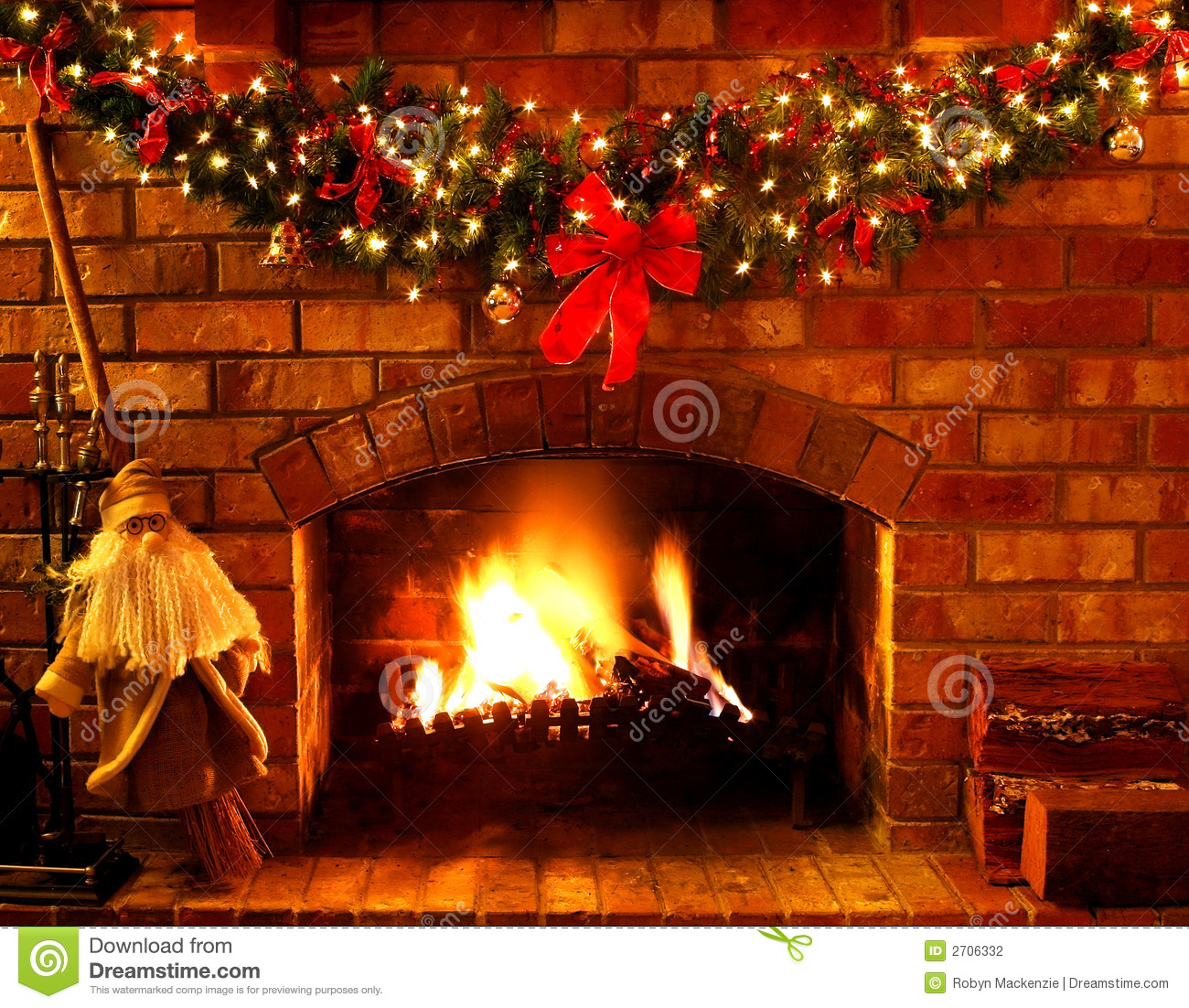 Christmas Fireplace Wallpaper Animated Christmas Fireplace Stock Photo Image Of Winter Festive