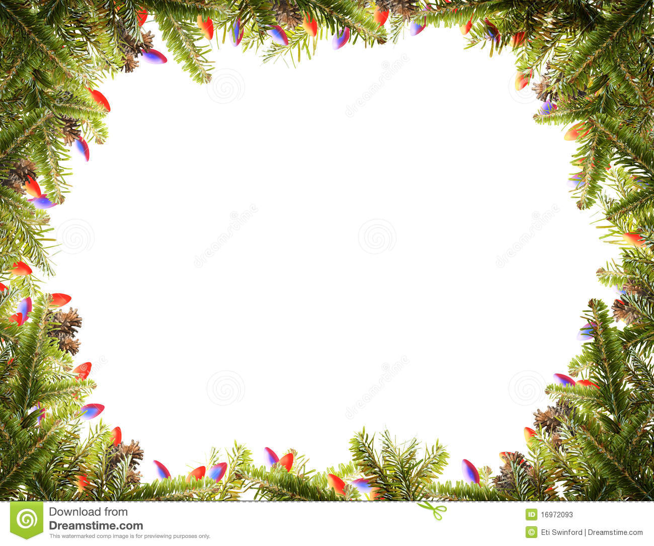 Silver Photo Frames Australia Christmas Frame Stock Image Image Of Landscape Branches