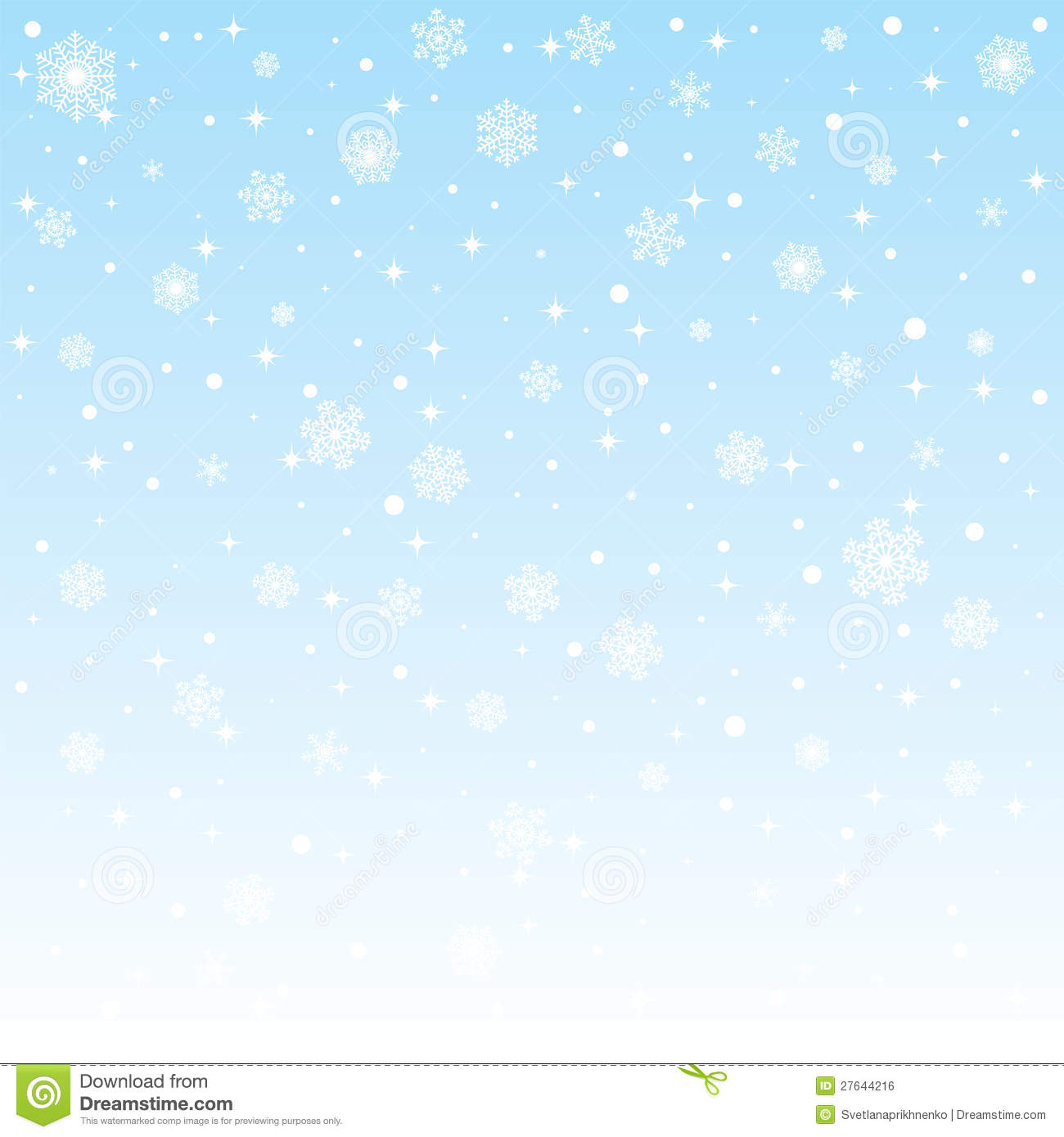 Snow Falling Wallpaper Download Christmas Frozen Background With Snowflakes Stock Vector