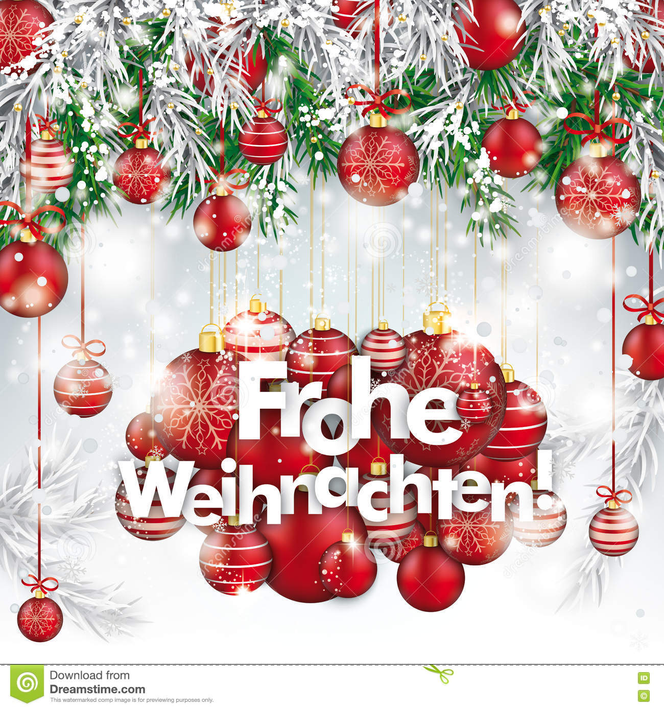 Frohe Weihnachten Tagalog Corporate Greeting Card Designed For The Spanish Speaking Market