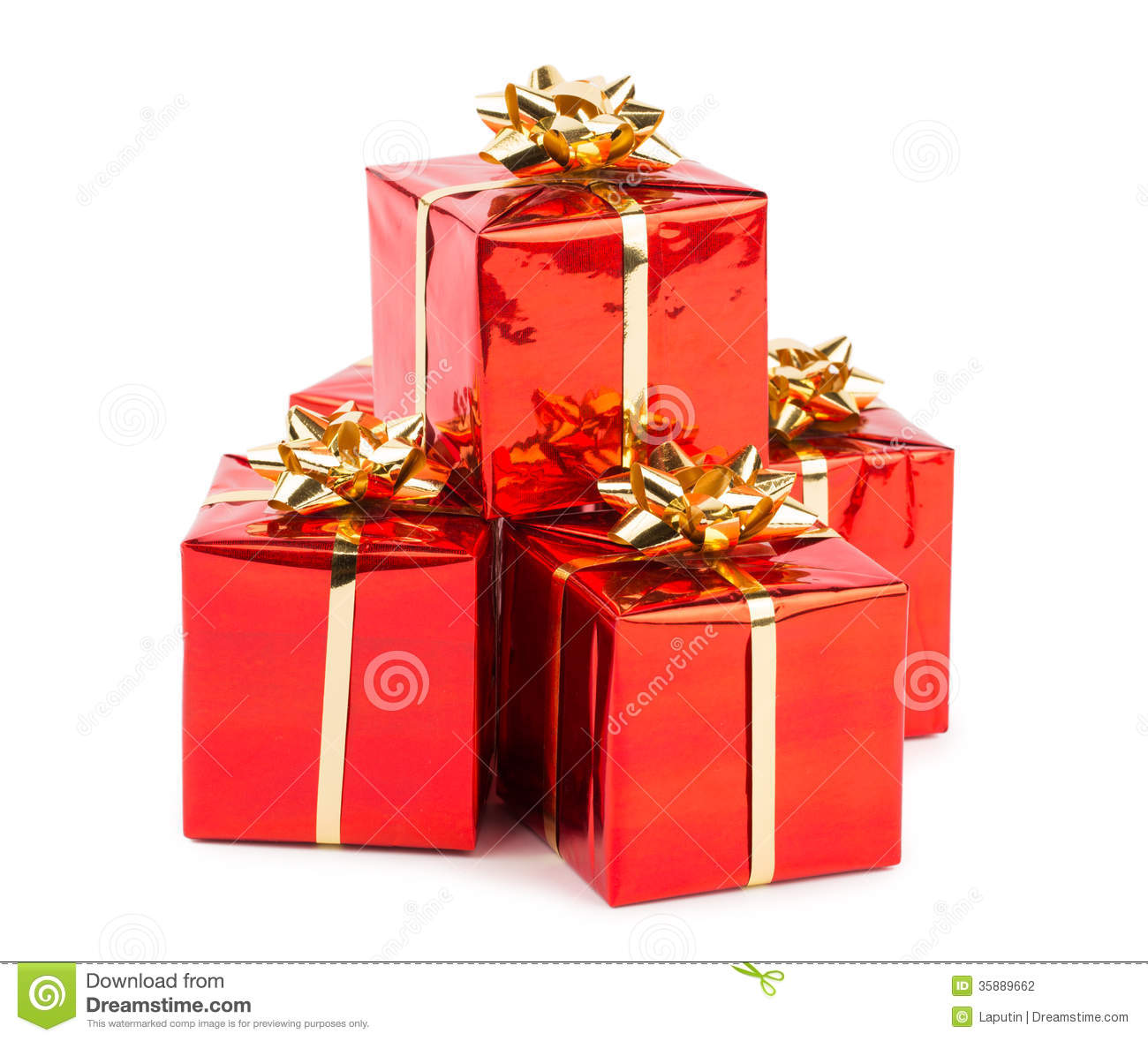 Gifts Photographers Christmas Gifts Stock Photography Image 35889662