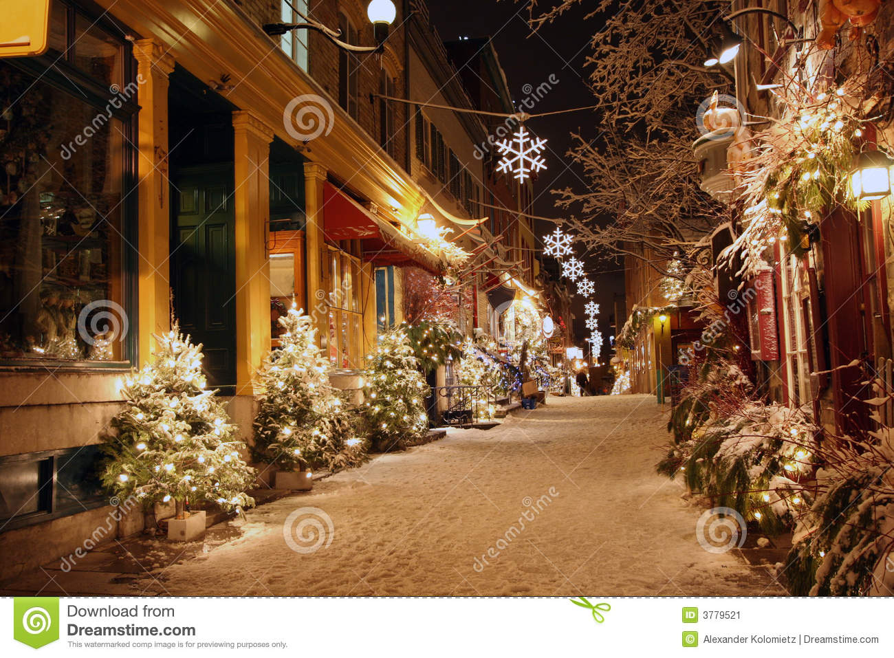 Live Winter Snow Fall Background Wallpaper Christmas Night In Quebec City Stock Image Image 3779521