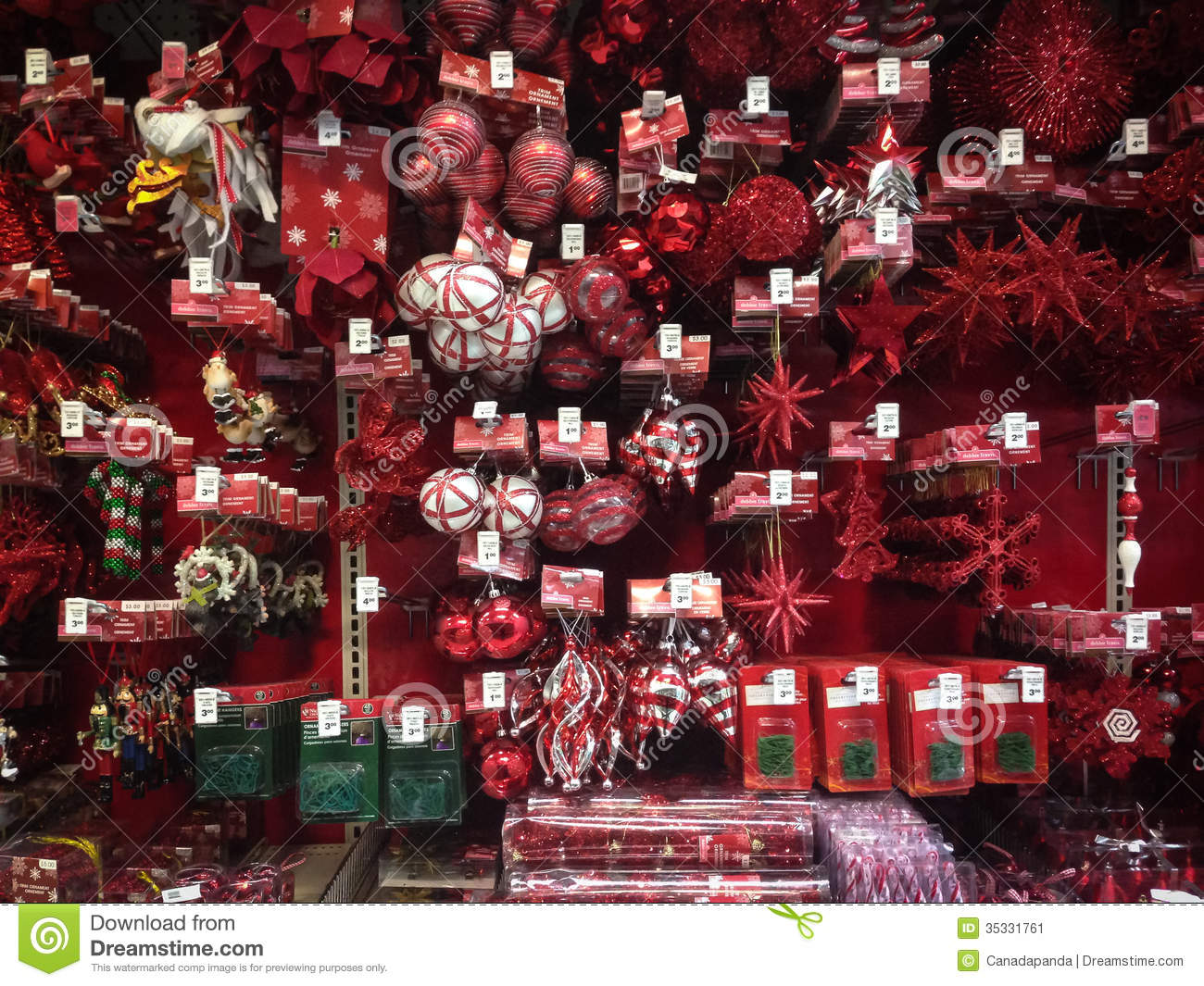Canadian Tire Christmas Decorations Christmas Ornaments For Sale Editorial Photo Image 35331761