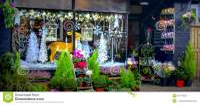 Christmas Shop Window In Ludlow Stock Photo - Image: 50713827