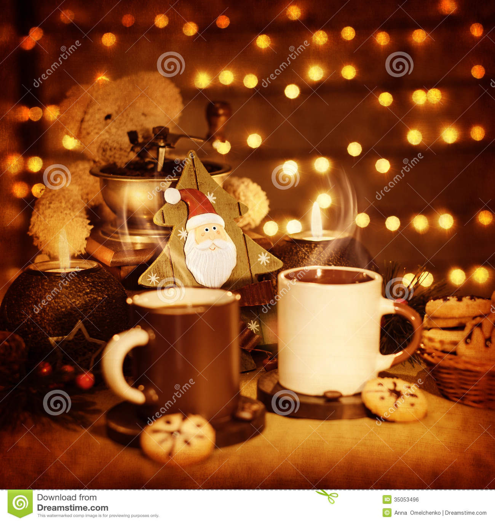 Starbucks Wallpaper Cute Christmas Still Life Royalty Free Stock Image Image