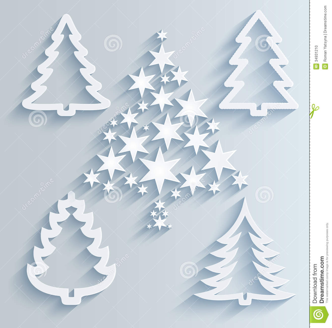 Paper Christmas Tree Ornaments Paper Christmas Decorations With Instructions