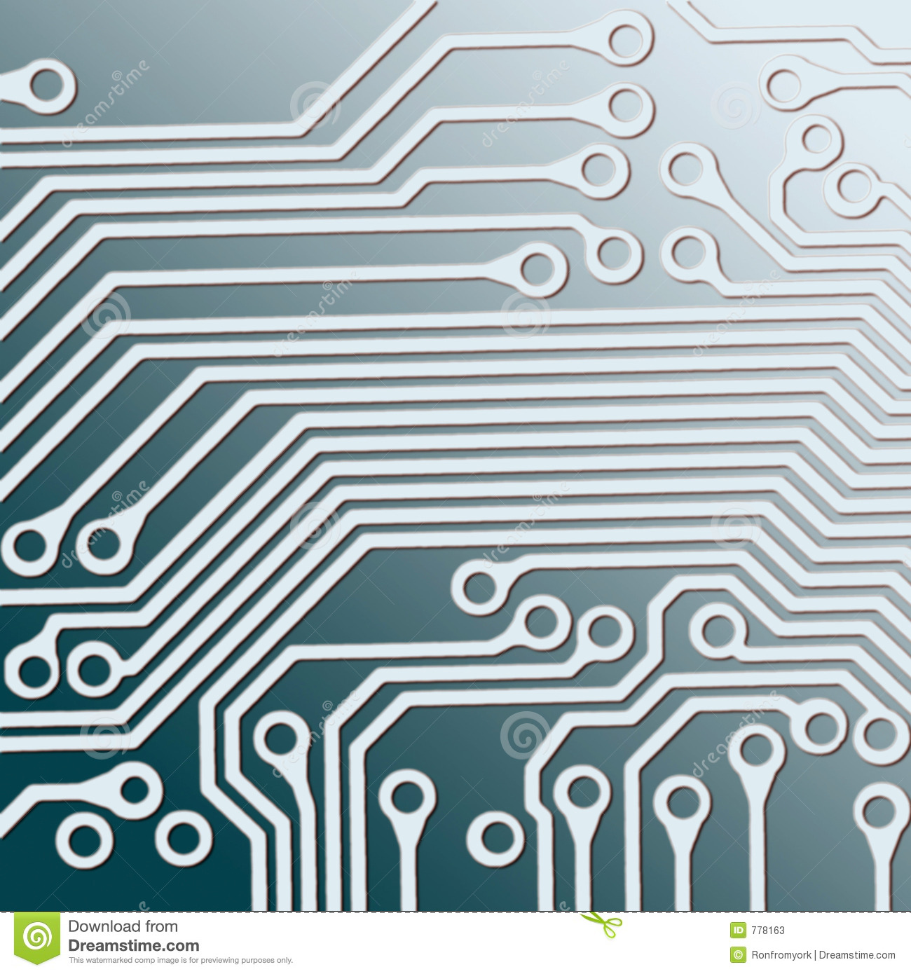 Circuit Board Stock Photos Auto Electrical Wiring Diagram Electronic Image 19113403