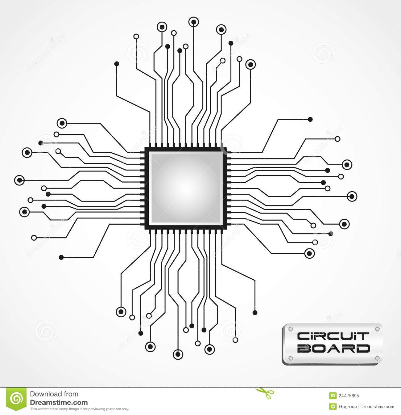 circuit board graphic royalty stock images image 22728109
