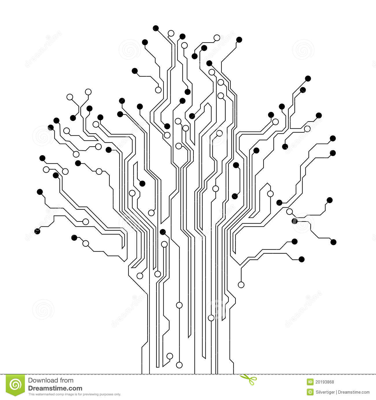 old circuit board royalty stock photography image 7581837