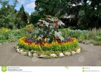 Circular Flower Bed Royalty Free Stock Photos - Image ...