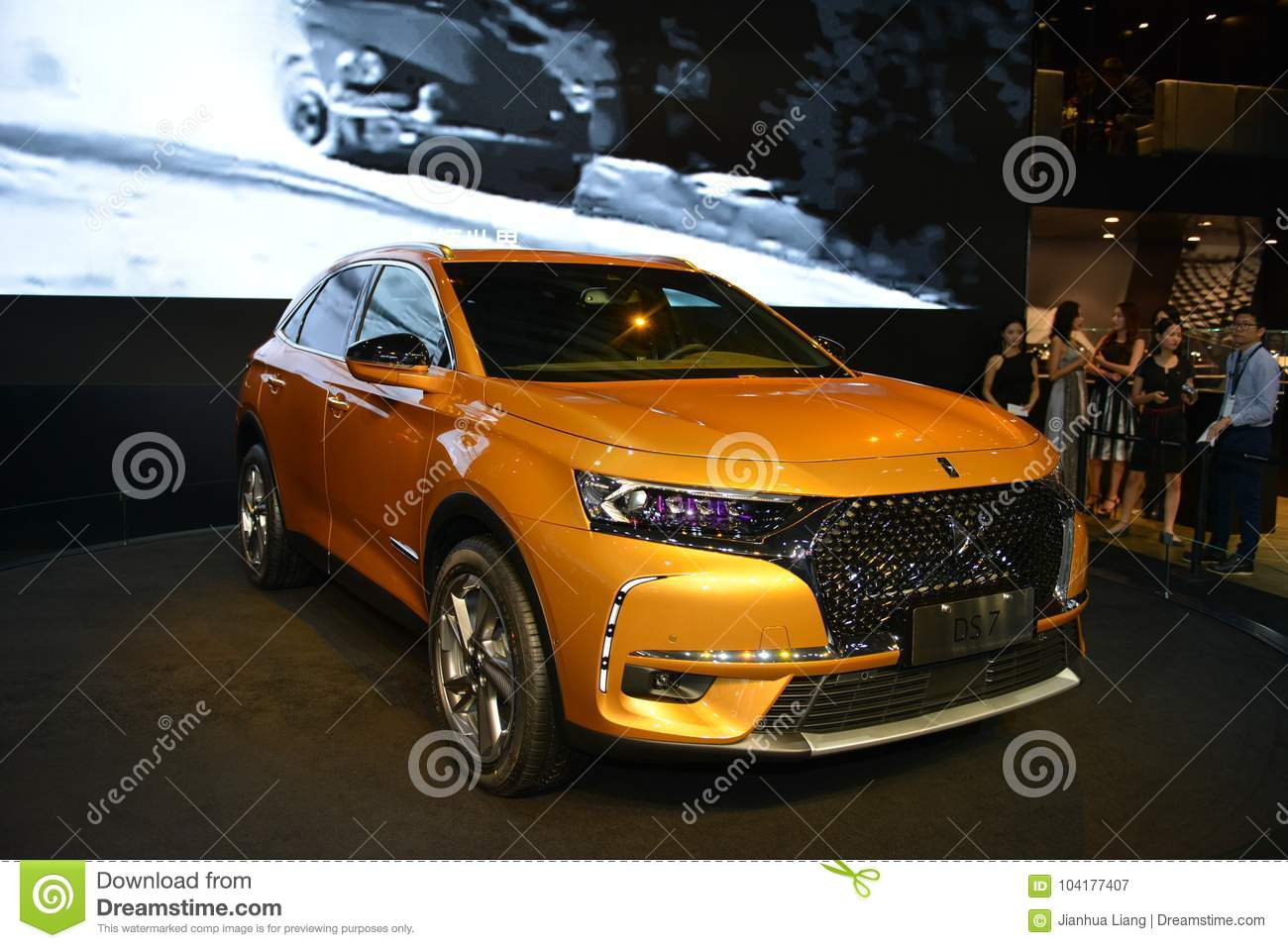 Citroen Ds7 Citroen Ds7 Crossback Suv Editorial Photography Image Of