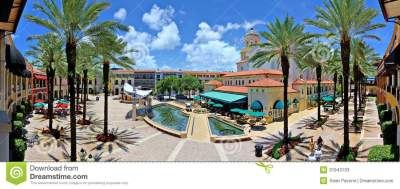 City Place West Palm Beach editorial stock photo. Image of ...