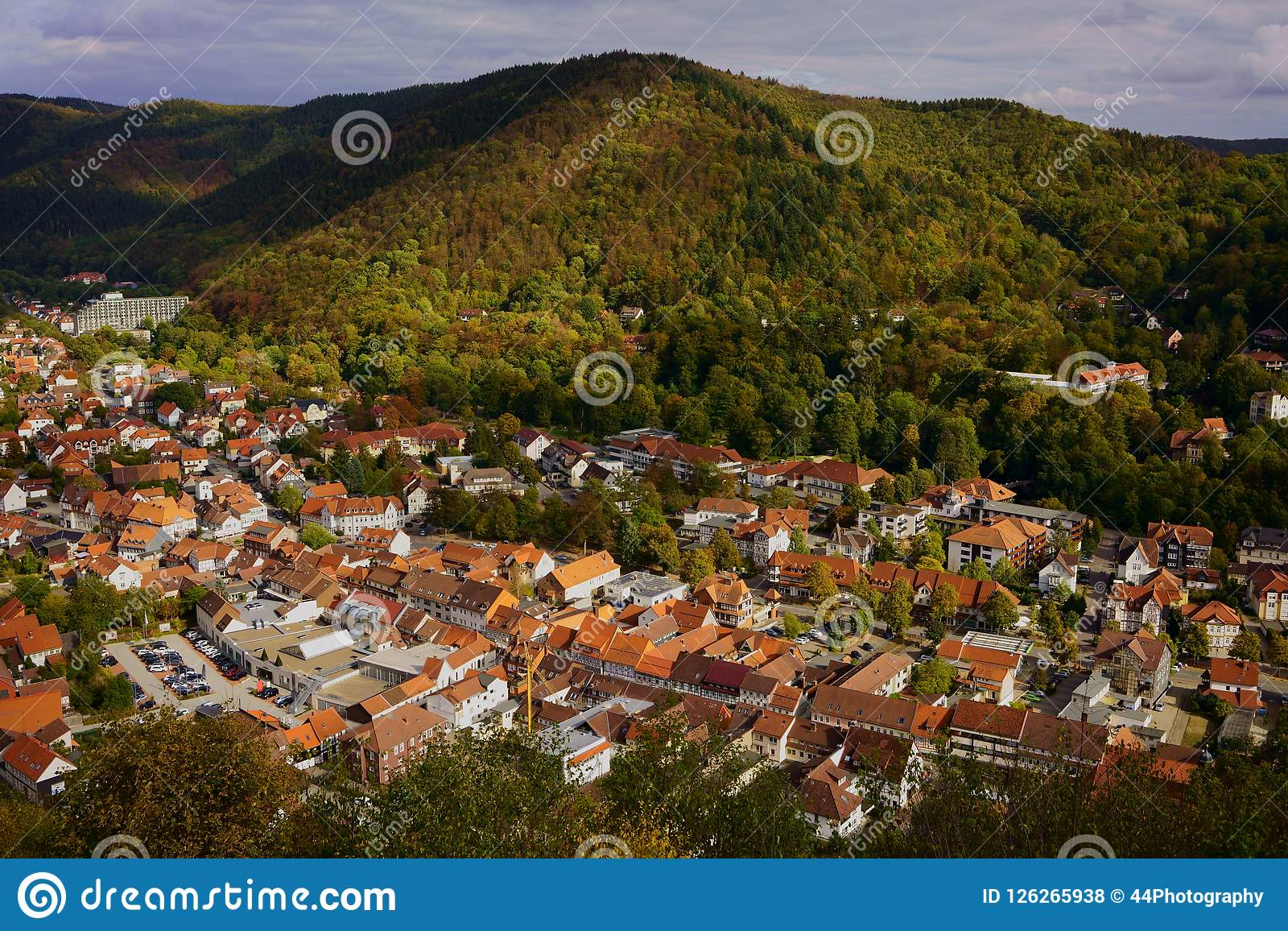 Bad Lauterberg Bilder Cityscape Of Bad Lauterberg In The Harz Mountains Lower