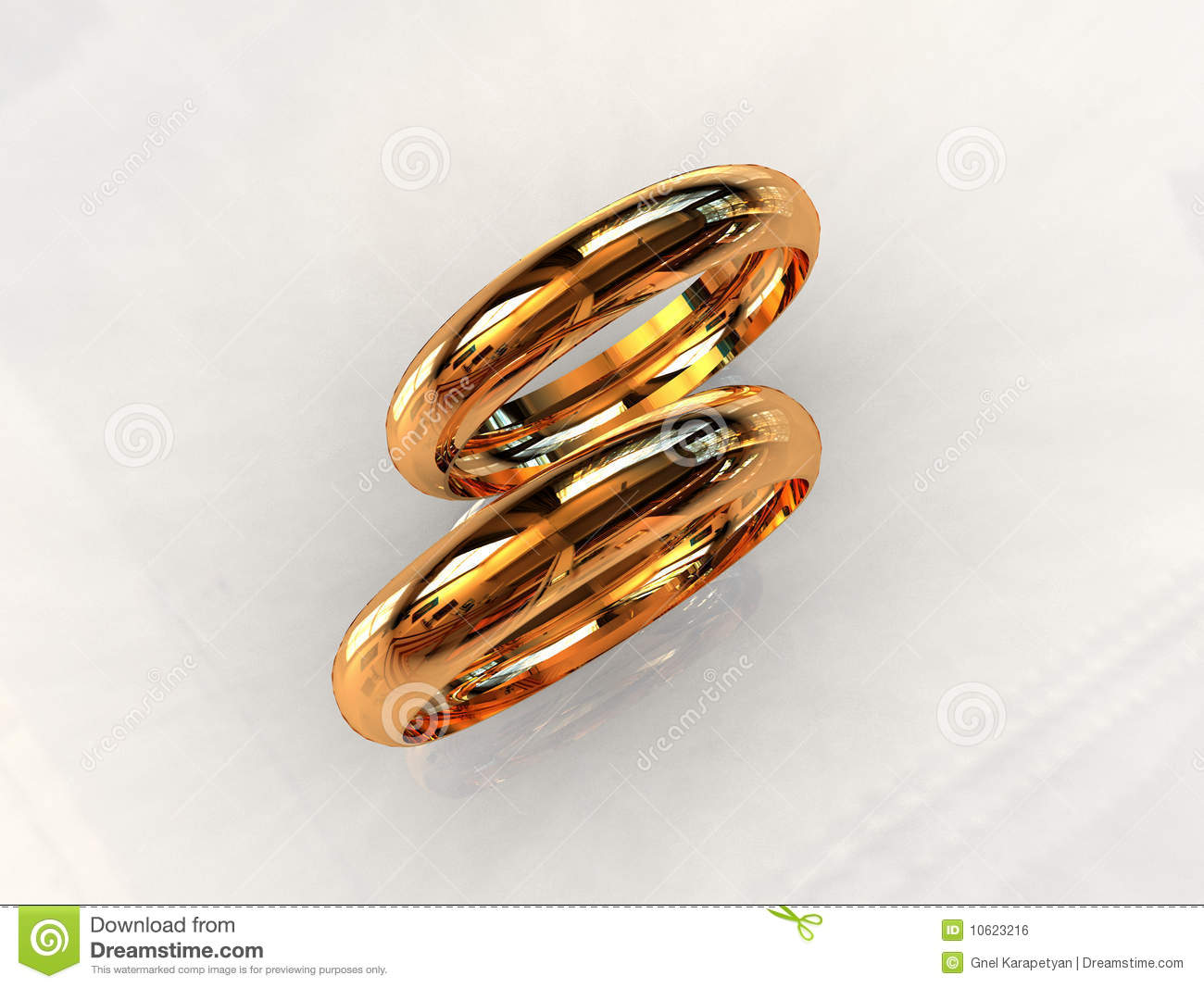 royalty free stock image classic 24ct gold wedding rings image classic wedding rings Classic 24ct gold wedding rings