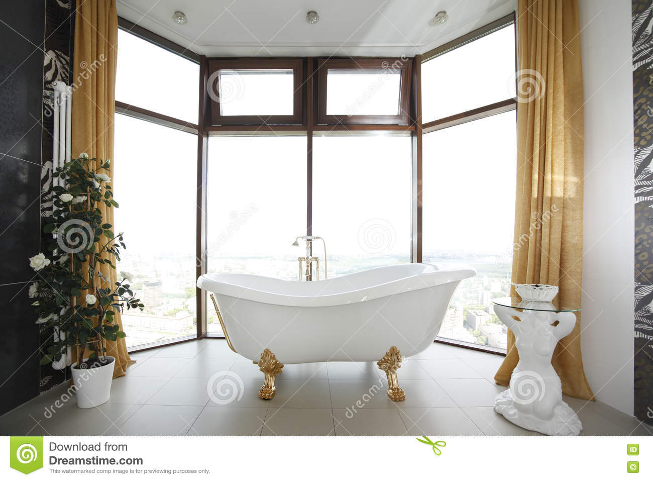 Classic Bathroom Design Classic Bathroom Design Stock Photo Image Of Color Domestic