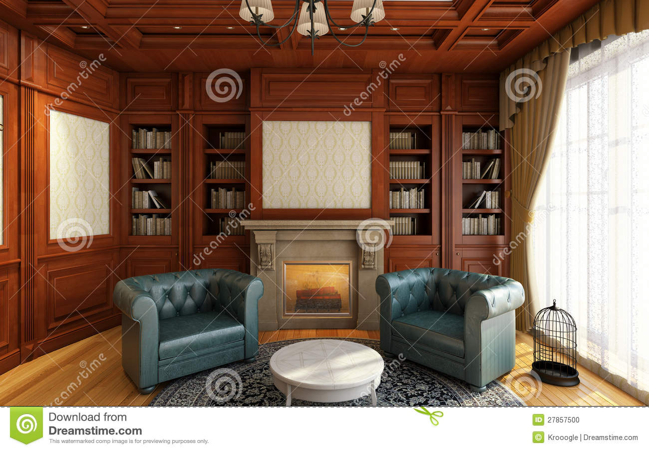 Classic Home Offices Classic Home Office Stock Photo Image 27857500