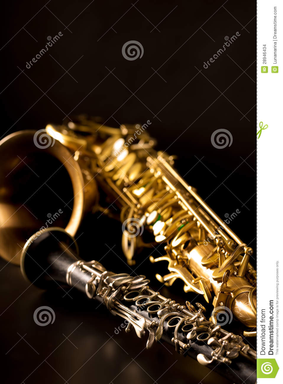 3d Animation Wallpaper Android Classic Music Sax Tenor Saxophone And Clarinet In Black
