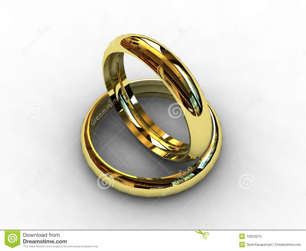 stock photo classic platinum wedding rings image classic wedding rings Classic platinum wedding rings