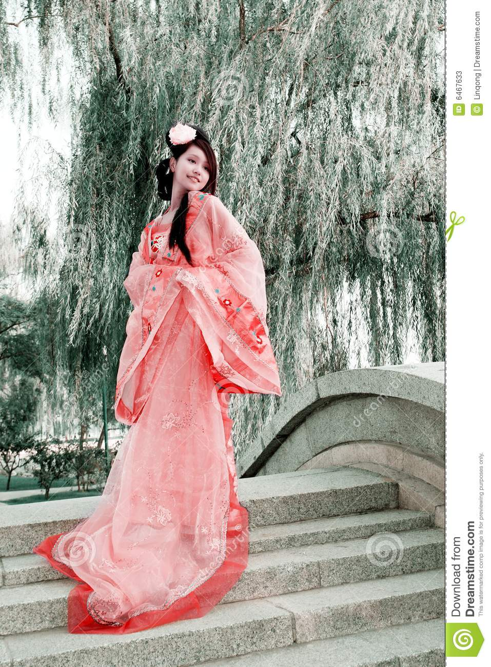 China Beautiful Girl Wallpaper Classical Beauty In China Stock Image Image Of Beijing