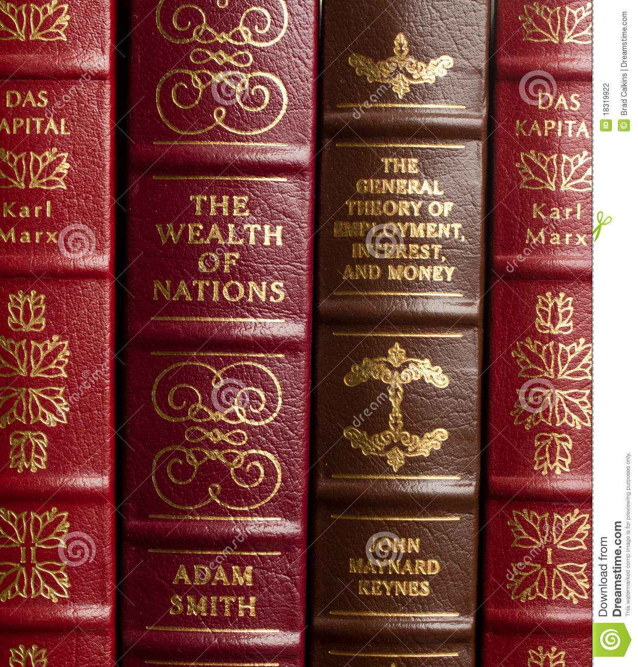 Adam Smith Libros Classici Di Economia Fotografia Editoriale Immagine Di