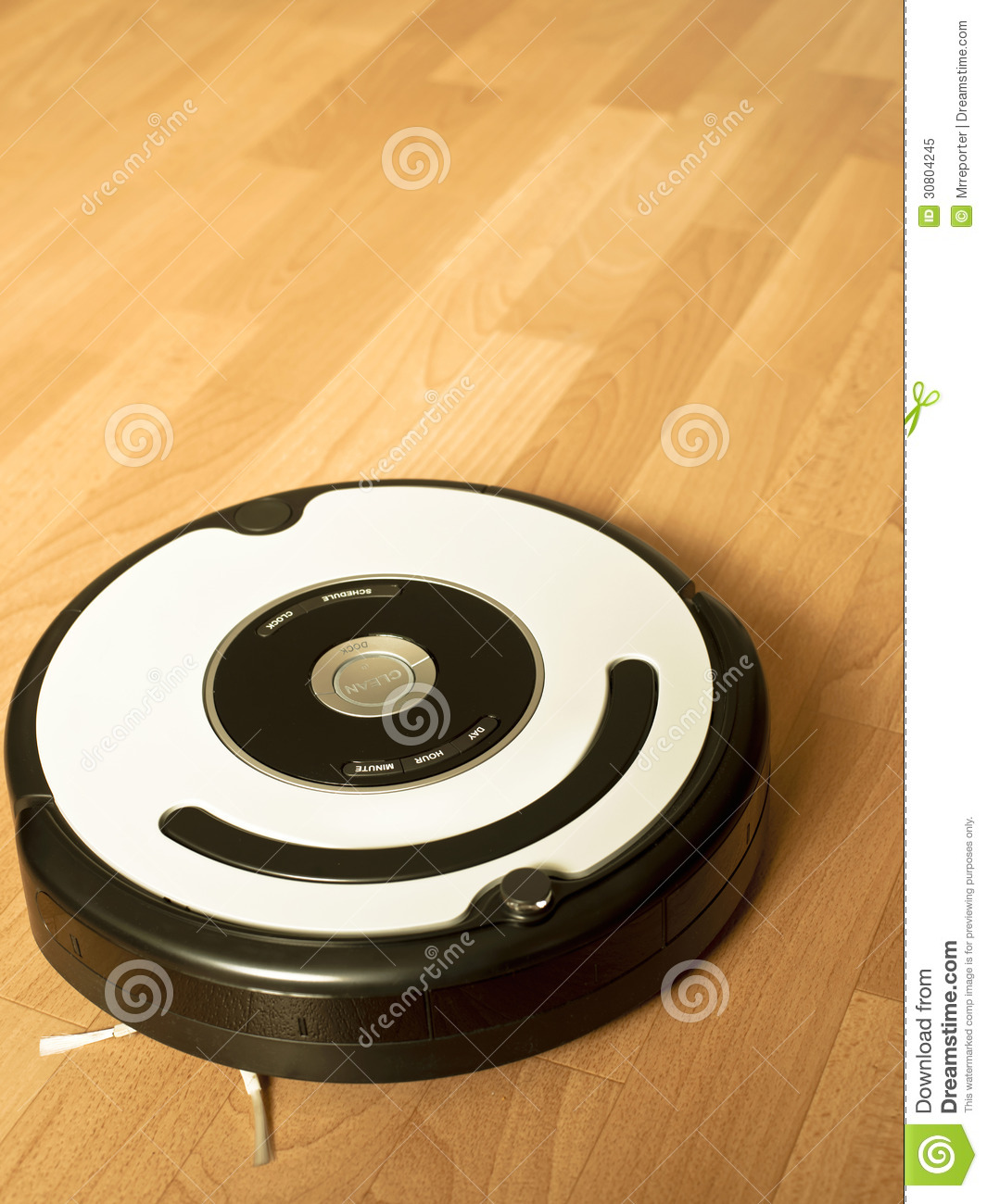 Cleaning Robot Stock Image Image Of Electric Hygiene