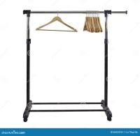 Clothing Rack stock image. Image of many, house, closet ...