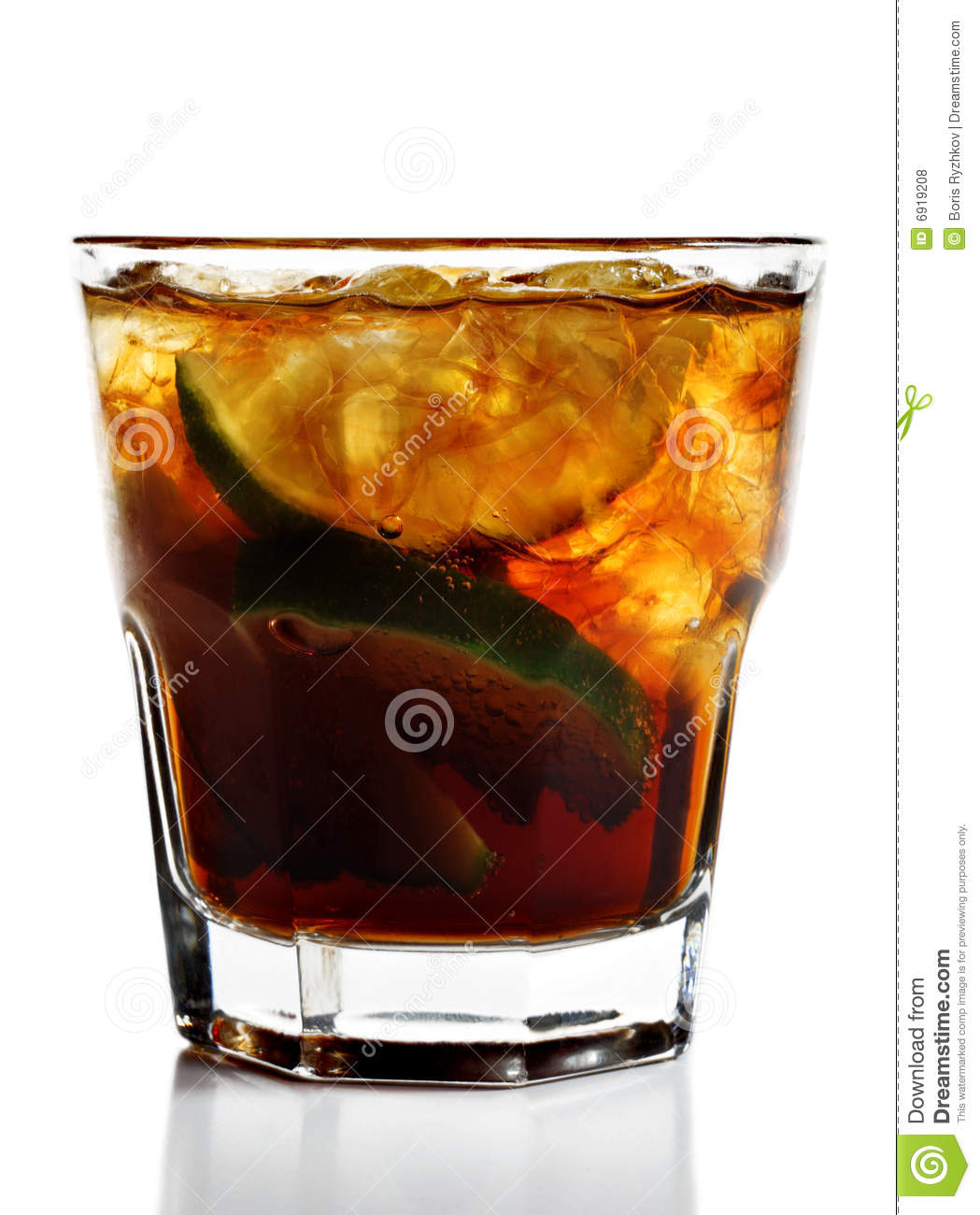 Cuba Libre Cocktail Cocktail Cuba Libre Royalty Free Stock Photos Image