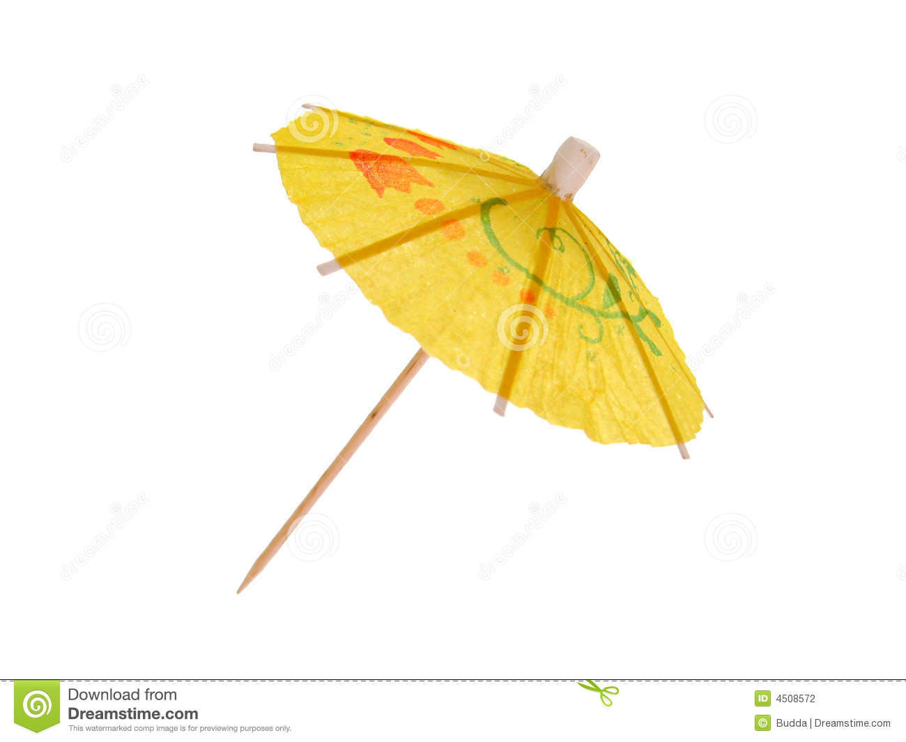 Cocktail Umbrella Stock Photo Image Of Parasol Object