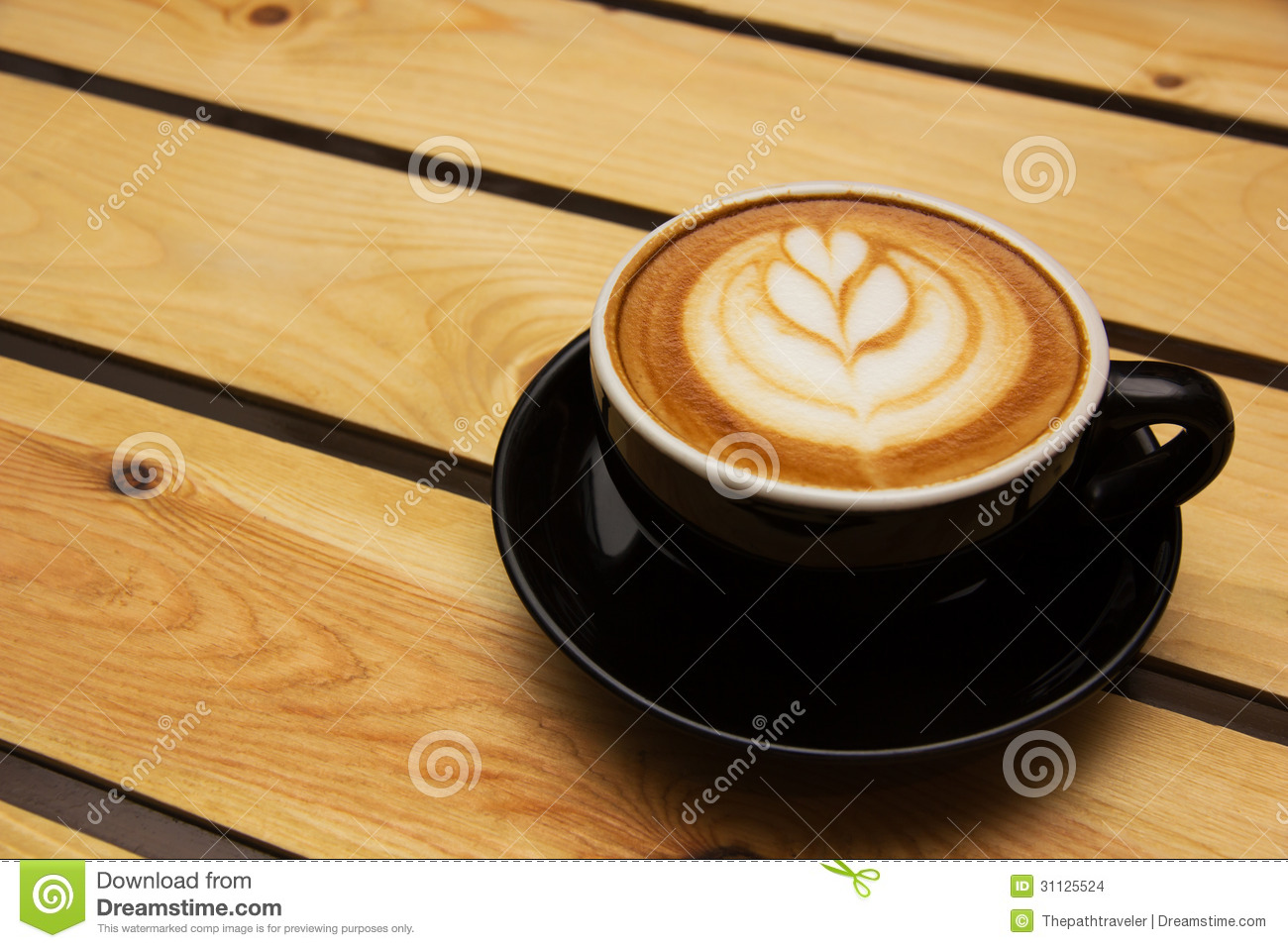 Coffee Latte Art Jogja Coffee Latte Stock Images Image 31125524