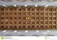 Coffered ceiling stock photo. Image of indoor, pisa, craft ...